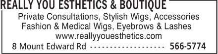 Ads Really You Esthetics & Boutique