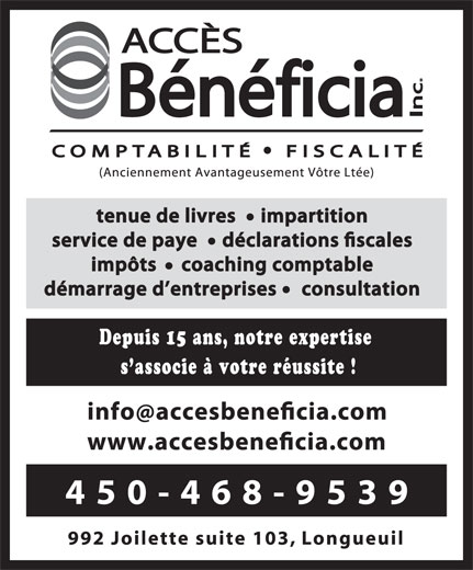 Ads Acces Beneficia Inc