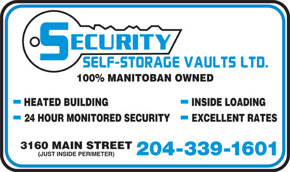 Ads Security Self-Storage Vaults Ltd