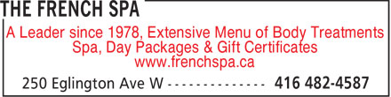 Ads The French Spa