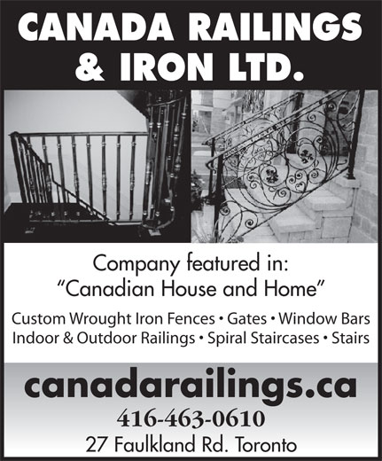 Ads Canada Railings & Iron Ltd