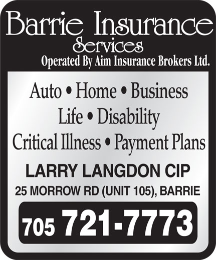 Ads Barrie Insurance Services