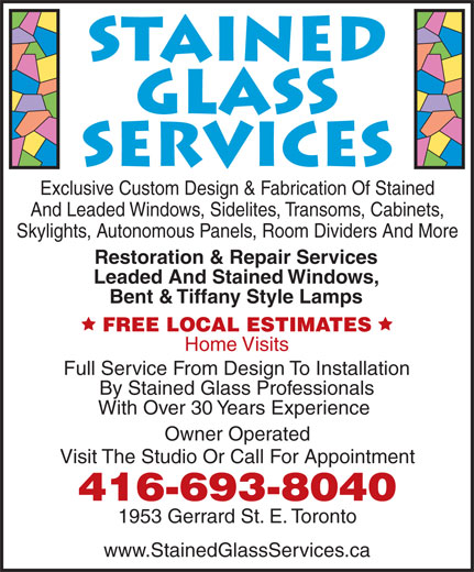 Ads Stained Glass Services
