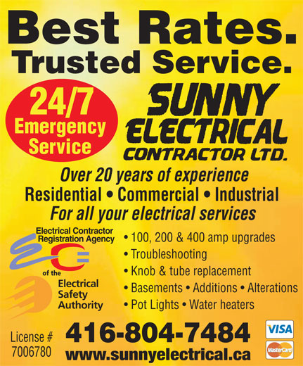 Ads Sunny Electrical Contractor Ltd