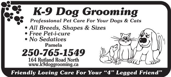 Dog Grooming Kelowna Rutland