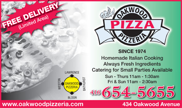 Ads Oakwood Pizzeria