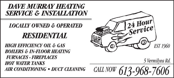 Ads Dave Murray Heating Service & Installation