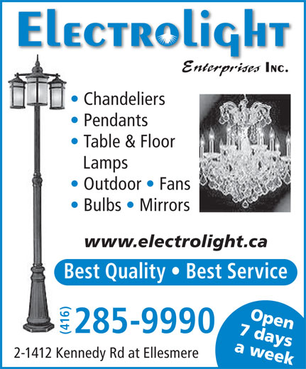 Ads Electrolight Enterprises