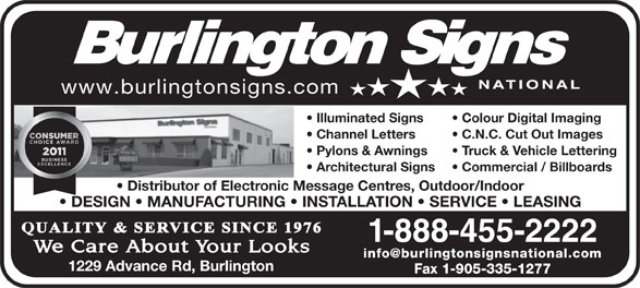 Ads Burlington Signs National