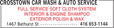 Ads Crosstown Car Wash & Auto Service