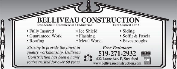 Ads Belliveau Construction