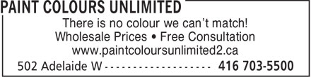 Ads Paint Colours