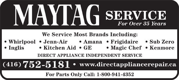 Ads Direct Appliance Repair