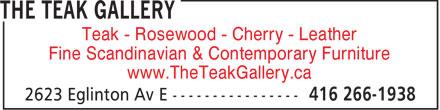 Ads The Teak Gallery