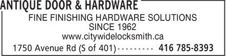 Ads Antique Door & Hardware