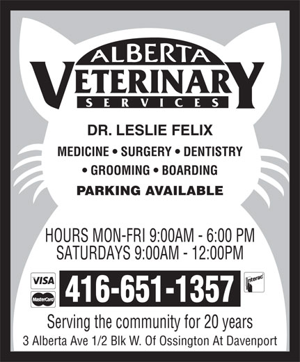 Ads Alberta Veterinary Services
