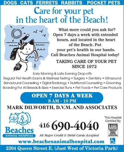 Ads Beaches Animal Hospital