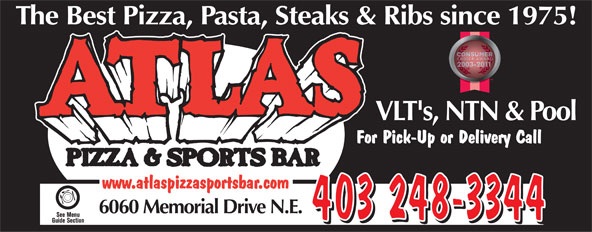 Ads Atlas Pizza &amp; Sports Bar