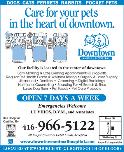 Ads Downtown Animal Hospital