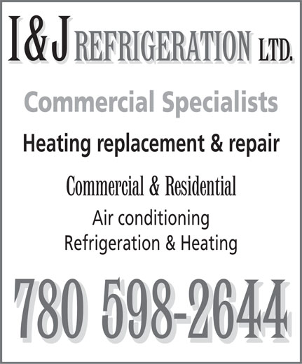 Ads I&J Refrigeration Ltd