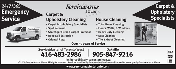 Ads ServiceMaster Of Toronto West