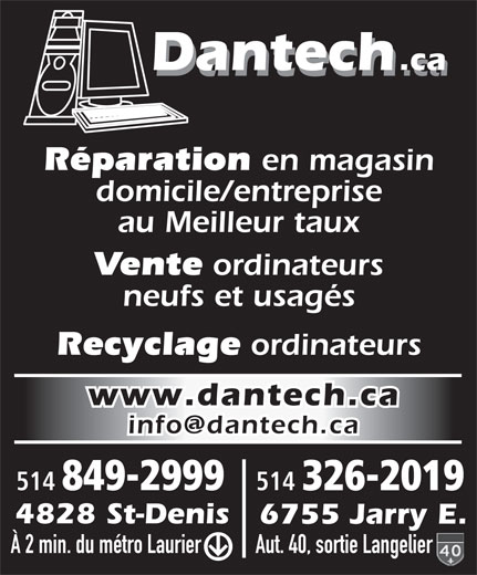 Ads Dantech.ca