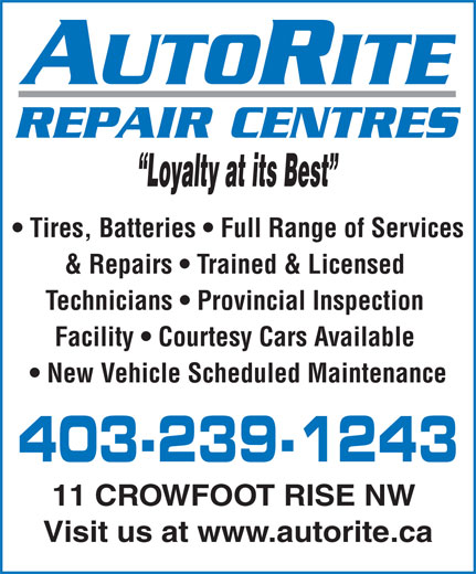 Ads Autorite Tire Experts