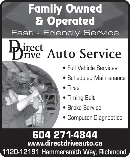 Ads Direct Drive Auto Service