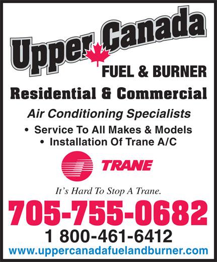 Ads Upper Canada Fuel Amp Burner