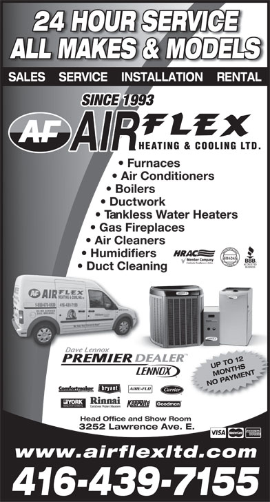 Ads Air Flex Heating & Cooling Ltd