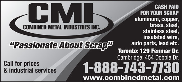 Ads Combined Metal Industries Inc