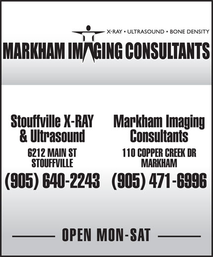 Ads Markham Imaging Consultants