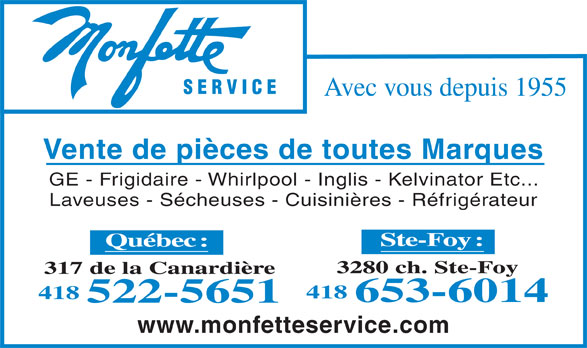 Ads Clment Monfette Service Inc