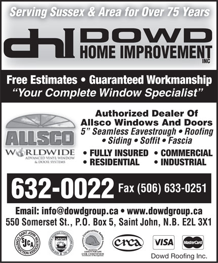 Ads Dowd Home Improvements Ltd