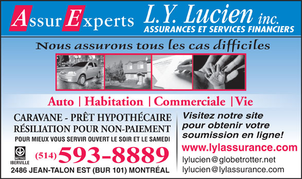 Ads LYL Assurances Inc