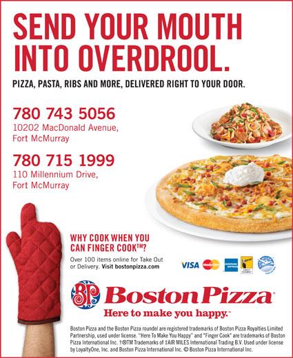 boston pizza fort mcmurray ab 10202 macdonald ave. Black Bedroom Furniture Sets. Home Design Ideas
