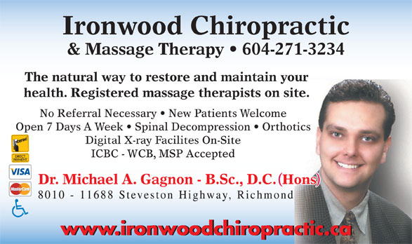 Ads Ironwood Chiropractic