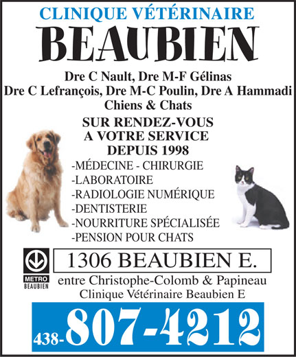 Ads Clinique Vtrinaire Beaubien E