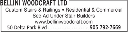 Ads Bellini Woodcraft Ltd