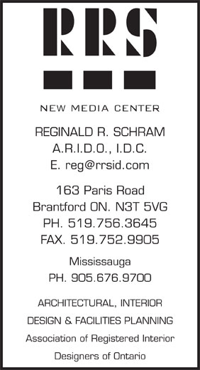 Ads Reginald R Schram ARIDO