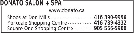 Ads Donato Salon + Spa