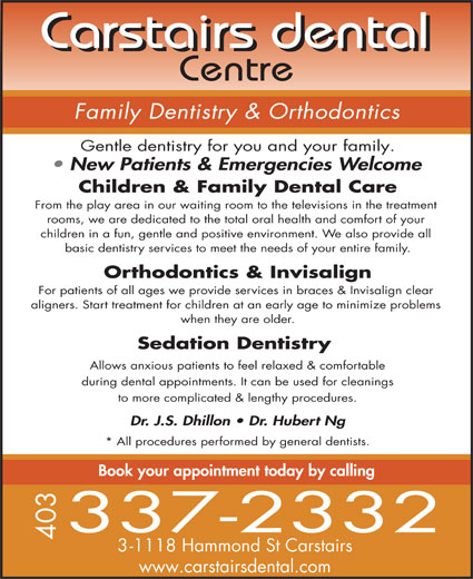 Ads Carstairs Dental Centre