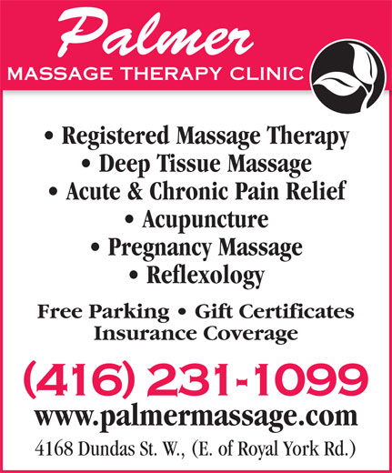Ads Palmer Massage Theraphy