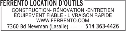 Ads Location Ferrento