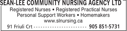 Ads Seanlee Community Nursing