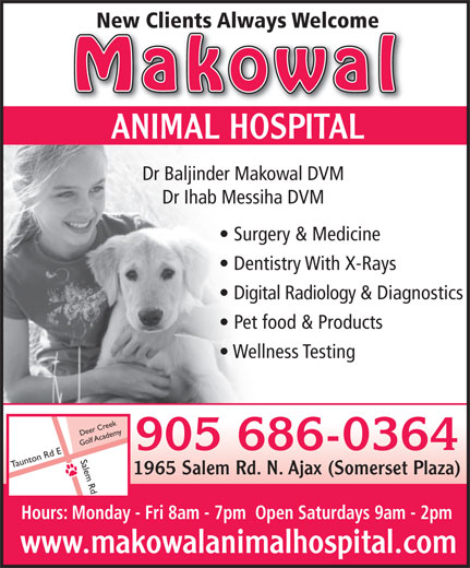 Ads Makowal Animal Hospital