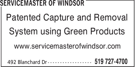 Ads Servicemaster Of Windsor