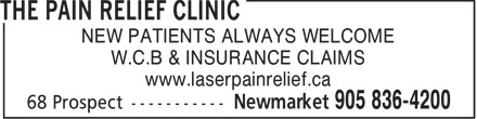 Ads Laser Pain Relief.ca