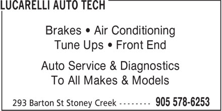 Ads Lucarelli Auto Tech