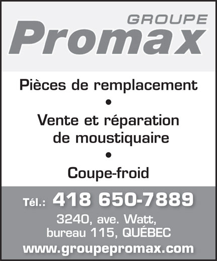 Ads Groupe Promax Inc
